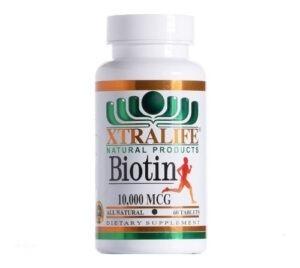 biotina 10000 mcg tabletas xtralife