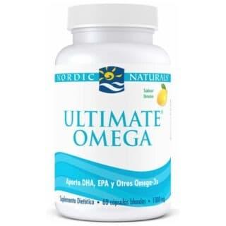 Ultimate Omega Sabor a Limón 60 cápsulas Nordic Naturals