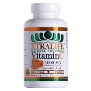 vitamina c 100 mg x 100 tab xtralife